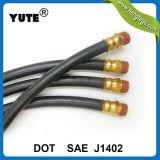 DOT SAE J1402 EPDM Ensemble de tuyau de frein à air en caoutchouc rouge