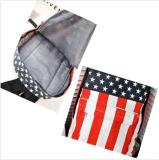 Lona da trouxa do saco de escola do ombro da trouxa da bandeira dos EUA Estados Unidos da América
