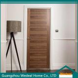 Personnaliser le placage en bois MDF Intérieur Porte en bois massif pour l'hôtel / Salle / Projet