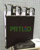 Druckgießenaluminium gebogenes LED-Bildschirmanzeige-Panel mit Winkel-Einsteller für P3.91, P4.81, P5.95, P6.25