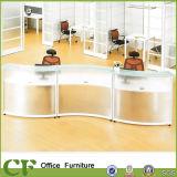 Стол приема дуги новой ясности таблицы приема конструкции самомоднейшей стеклянный