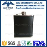 China Wholesale Reciclado Envuelto Espejo Liso Flask Hip Set