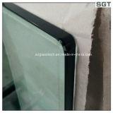 Vidro temperado / temperado de 3-19 mm para telas de chuveiro