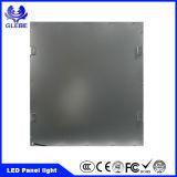 100lm/W 600X600 40W hohe PF reine dünne LED Instrumententafel-Leuchte des weißen Quadrat-