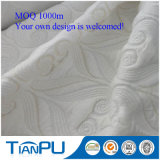 Tessuto viscoso/poli di vendita calda del Knit del jacquard per il materasso