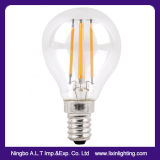 Ampoule de filament de G45 DEL avec la couverture en verre claire