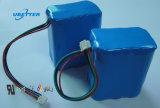 18650 12V 5600mAh 3s2p Batería de litio-ion LiFePO4 de la batería