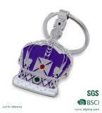 Crown Logo Soft Enamel Zinc Alloy Keychain pour cadeau de mariage