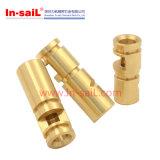 機械化の高精度の黄銅の回転部品