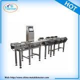 Máquina de classificação em linha automática do pesador da verificação