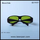 40%のフレーム33が付いているAlexandriteのレーザーのための伝送/755nmレーザーの安全ガラスの防護眼鏡