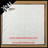 Quadrados feitos sob encomenda do bolso do Mens do lenço da cópia com borda colorida