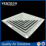 De Vierkante Verspreider van de Lucht van de Levering HVAC, de Hoge Vierkante Verspreider van het Plafond