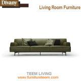 Modernes Gewebe-Ecken-Sofa ausgießen