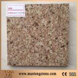Popular Hot Selling Brown Stone Quartz Color pour la cuisine et les comptoirs de salle de bains