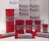 Etiqueta engomada amonestadora del vinilo del tabaco legal resistente del niño