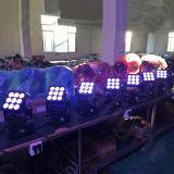9PCS 12W 4in1移動ヘッドライトLEDビームマトリックス3X3