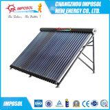 Chauffe-eau solaire non-pressurisé d'acier inoxydable pour le projet