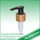 28/415 baño filetea la bomba plástica cosmética del jabón del bloqueo de derecha a izquierda