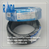 O PVC isolou o fio elétrico de cobre encalhado