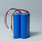 セリウムが付いている7.4V 3400mAh李イオン電池のパックおよび医療器具のためのRoHS