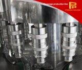 Planta de engarrafamento de enchimento da bebida líquida automática da água para o animal de estimação/frasco de vidro