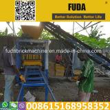 [قت4-24] يدويّة قالب قرميد يشتبك آلة في [أكّرا] قرميد يجعل آلة في غانا