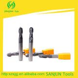 Diameter Ball Nose Mill Cutter Tungsten Carbide Round Nose Mill Cutters Hole Milling Cutter
