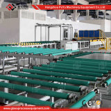 Heißer Verkaufs-Glasrollen-Förderanlagen-System für aufbereitende Glaszeile