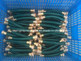 mangueira flexível resistente da água do jardim do PVC *100FT de 1/2 de '' com encaixe de bronze