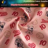 子供の衣服のためのポリエステル繭紬ファブリックのBaseball&Bearの印刷