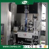 Máquina de etiquetado automática de alta velocidad de la funda del encogimiento de las Dos-Pistas