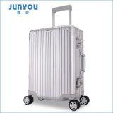 Diseño de moda de Junyou el nuevo, nuevo muchos colorea el aluminio equipaje del recorrido de 20 pulgadas para la venta
