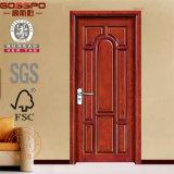 Decoração de interiores de porta de madeira estilo pão (GSP2-034)