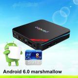 Android Android 6.0 HDMI 2.0 BT 4.0 Kodi 17.0 di Amlogic S912 Pendoo X9 della casella della TV PRO