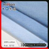 Шток дробит ткань на участки 100% джинсыов ткани 4oz джинсовой ткани хлопка