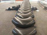 Instalación de tuberías de la soldadura a tope del acero de carbón