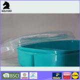Aufbereiteter Plastikbehälter-Mittagessen-Kasten Bento Kasten