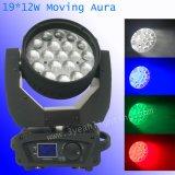 12wx19 Auar LED 이동하는 맨 위 단계 빛