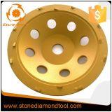 7エポキシの粉砕のためのインチPCDのダイヤモンドのコップの車輪