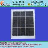 12V小規模なシステムのための18V 5Wのモノラル太陽モジュール