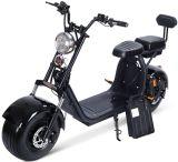 Pneu de gordura Mototec 60V 18ah 2000W Preto Scooter Eléctrico de lítio