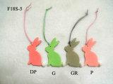 أرنب خشبيّة مصغّرة [بونّي] علاّق [إستر] زخرفة