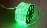 5050 tira flexible de alto voltaje de los 72LED/M 220V 14.4W LED