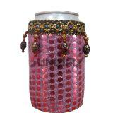 Shinny Stubby titulaire, Custom perlé en néoprène brillant Stubby refroidisseur (BC0063)