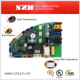 2 Capas Intelligent bidé Placa PCB
