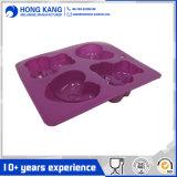 L'ours a formé le moulage de gâteau de silicones (RS39)