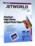 Jetworld Premium luster Inkjet Photo Paper (RC Base) (PH260)