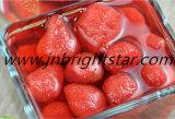 Les conserves de fraise