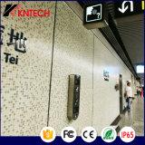 Telefono Handsfree di guida di servizio pubblico per il sottopassaggio dell'aeroporto della metropolitana